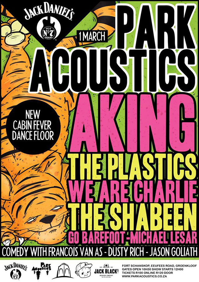 Park Acoustics Music Festival in Pretoria, South Africa - 01 March 2015