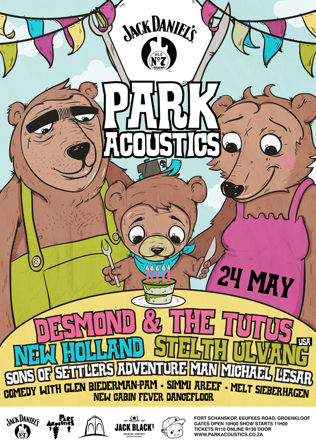 Park Acoustics Music Festival in Pretoria, South Africa - 24 May 2015