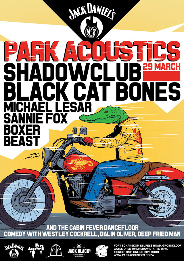 Park Acoustics Music Festival in Pretoria, South Africa - 29 March 2015