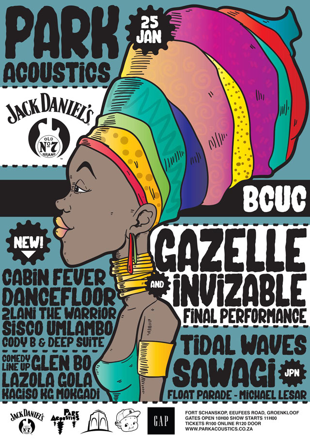 Park Acoustics Music Festival in Pretoria, South Africa - 25 January 2015